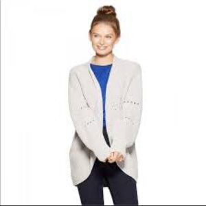 A new day Chenille Open front cardigan